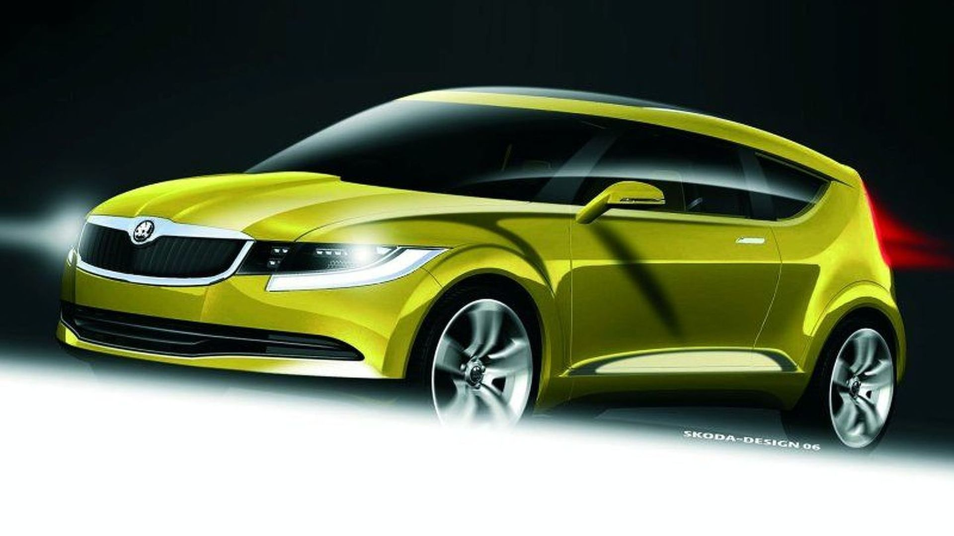 skoda coupe suv due in 2017. Black Bedroom Furniture Sets. Home Design Ideas
