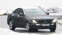2014 Mercedes C-Class full body prototype first spy photos