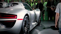Porsche 918 Spyder filmed in Milan [video]