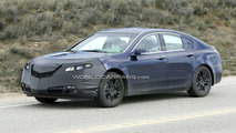 Acura TL Spied with Less Camo