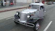 1931 Shotwell is an odd, three-wheeled member of Leno's garage
