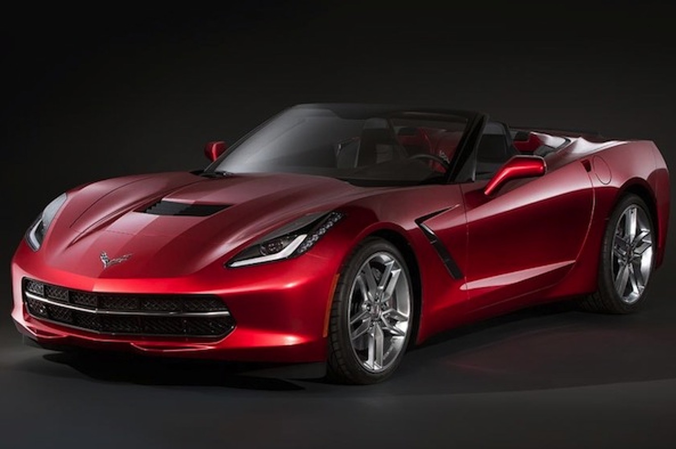 This is the Chevrolet Corvette Stingray Convertible, Probably