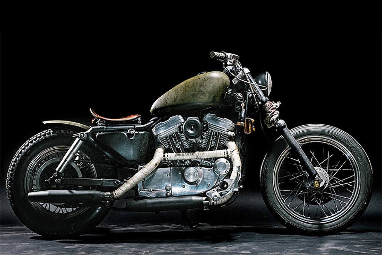 """This Harley Davidson """"Witch"""" is Dirty and Distressed, But So Beautiful"""