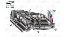 Austrian GP tech debrief: McLaren's radical rear wing