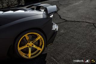 Chris Brown's Misha Designs Lamborghini Aventador Is Contrasting Opulence