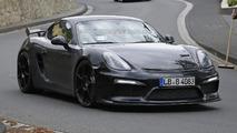 Porsche Cayman GT4 spy photo