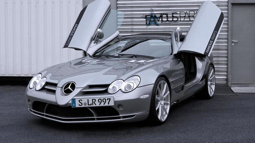 Famous Parts tunes the Mercedes McLaren SLR Roadster