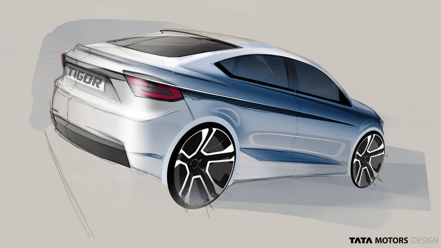 Tata teases sleek-looking Tigor styleback