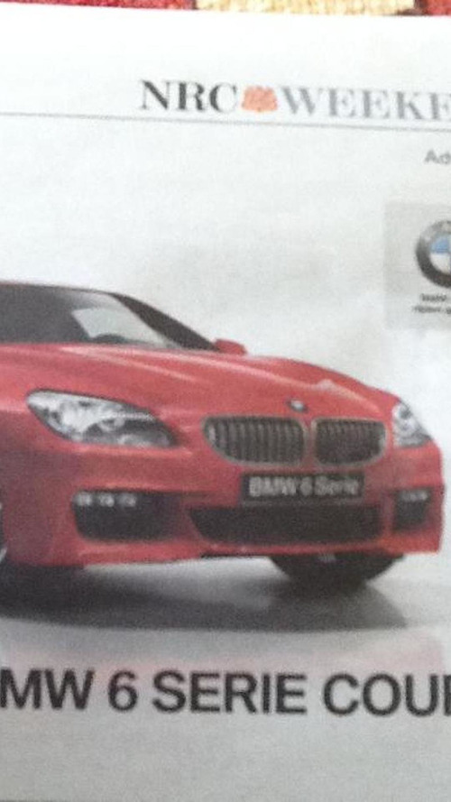 BMW 6 Series M-Sport Package Leaked