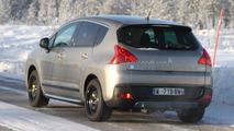 2011 Puegeot 3008 HYbrid4 cold testing 10.02.2011