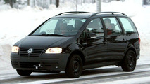 SPY PHOTOS: New Volkswagen Sharan