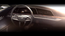 Cadillac teases concept featuring curved OLED screens