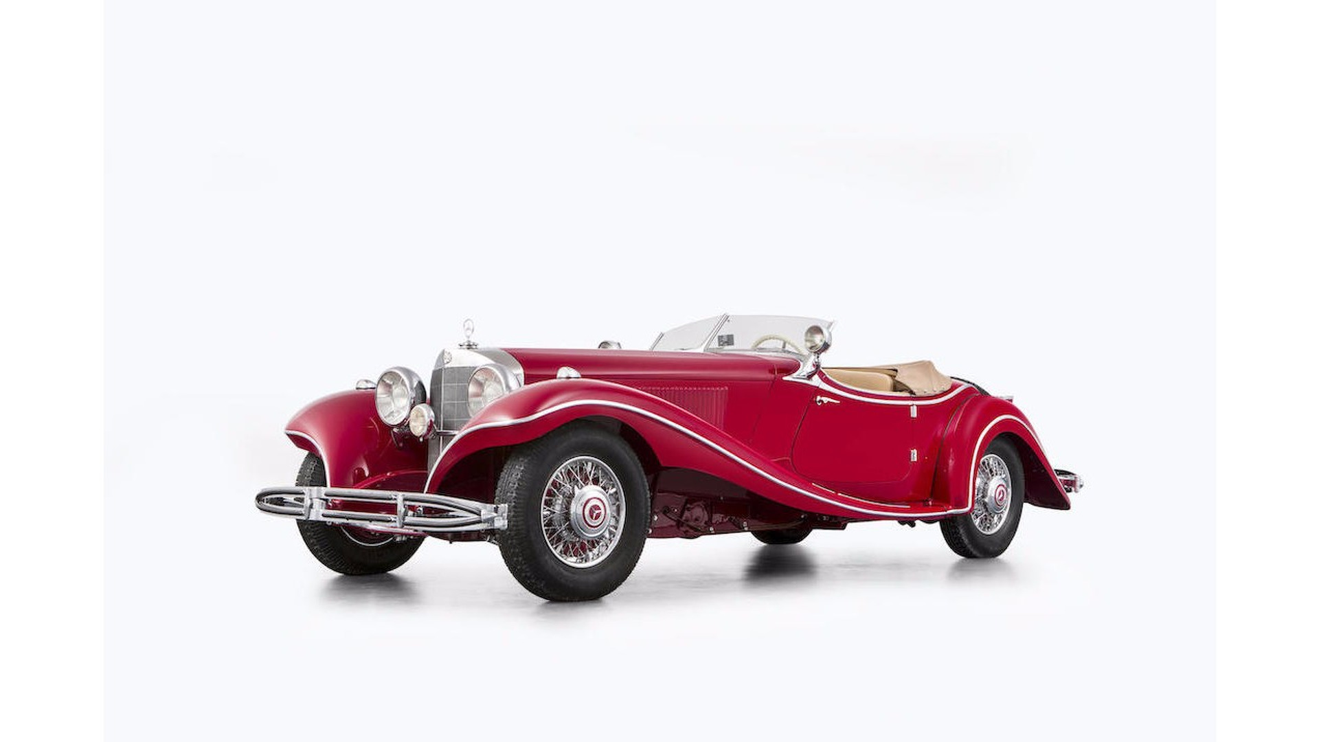 Stolen WWII era Mercedes 500K expected to get $7.7M at auction