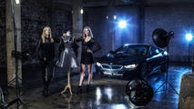 Twins design carbon fiber dress inspired by BMW i