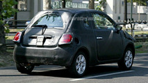 Spy Photos: New Fiat 500