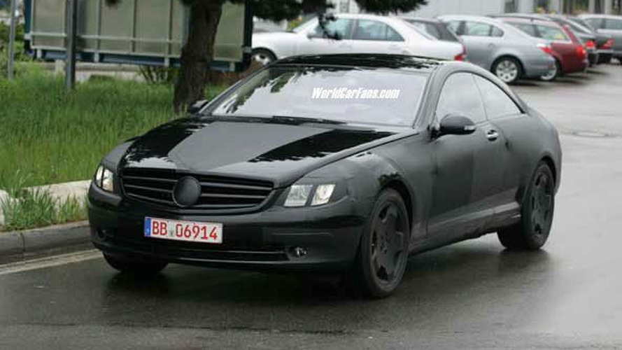 Future Mercedes CL Spy Photos