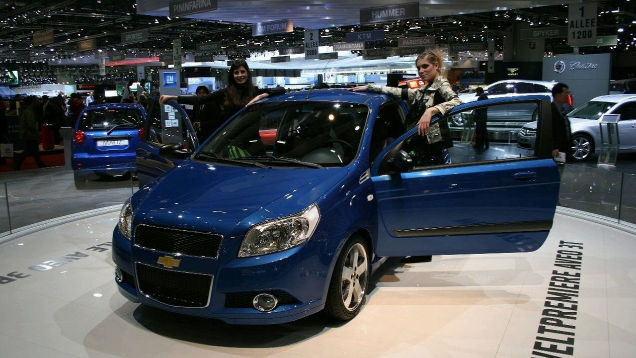 Chevrolet Aveo 3-Door at Geneva
