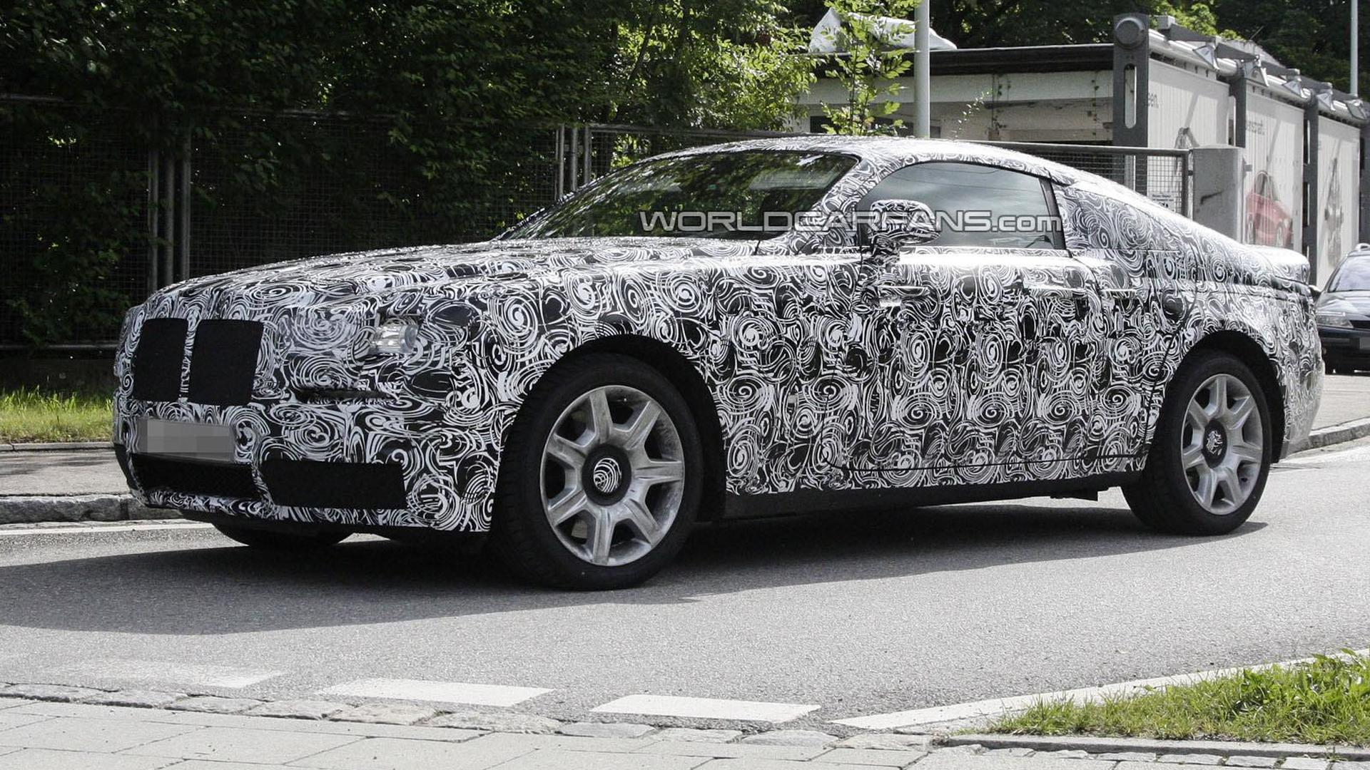 Ghost Coupe to be fastest Rolls Royce ever - more details surface
