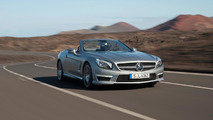 Mercedes SL63 AMG immortalized on video