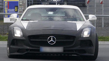 Mercedes SLS AMG Black Series spied showing new details
