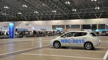 Nissan Leaf NSC-2015 autonomous prototype unveiled