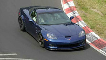 Corvette Z06 Blue Devil Spy Photos