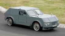 BMW V Series test mule spy photos