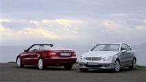 Mercedes-Benz CLK-Class Model Update