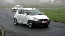 New Suzuki Swift GTi Spy Photos