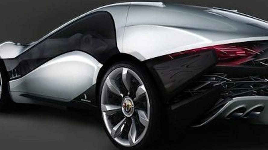 Bertone Alfa Romeo Pandion Concept First Photos Surface