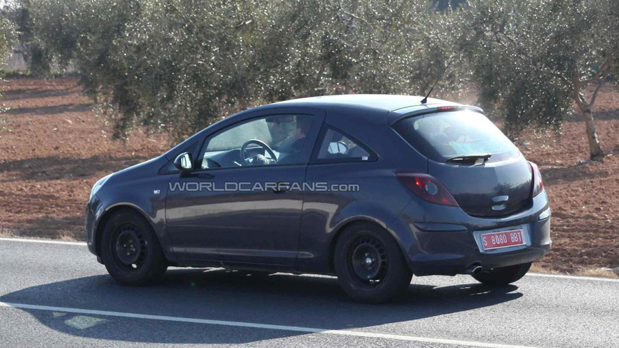 2013 Opel Allegra spied for the first time