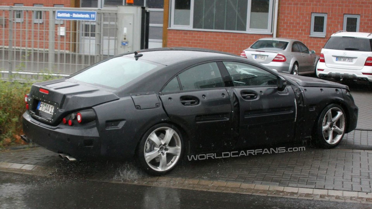 2011 Mercedes CLS AMG Prototype Vehicle Testing