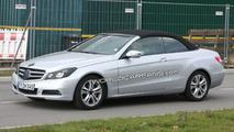 2010 Mercedes E-Class Cabrio spy photo