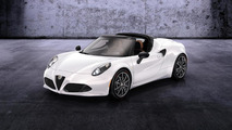 Alfa Romeo 4C Spider previews confirmed 2015 production model
