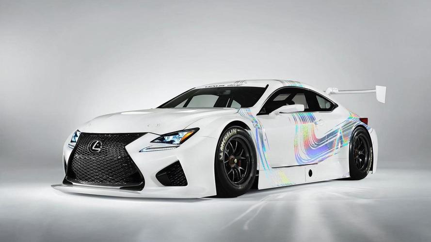 Lexus RC F GT3 concept heading to Geneva with 540 HP