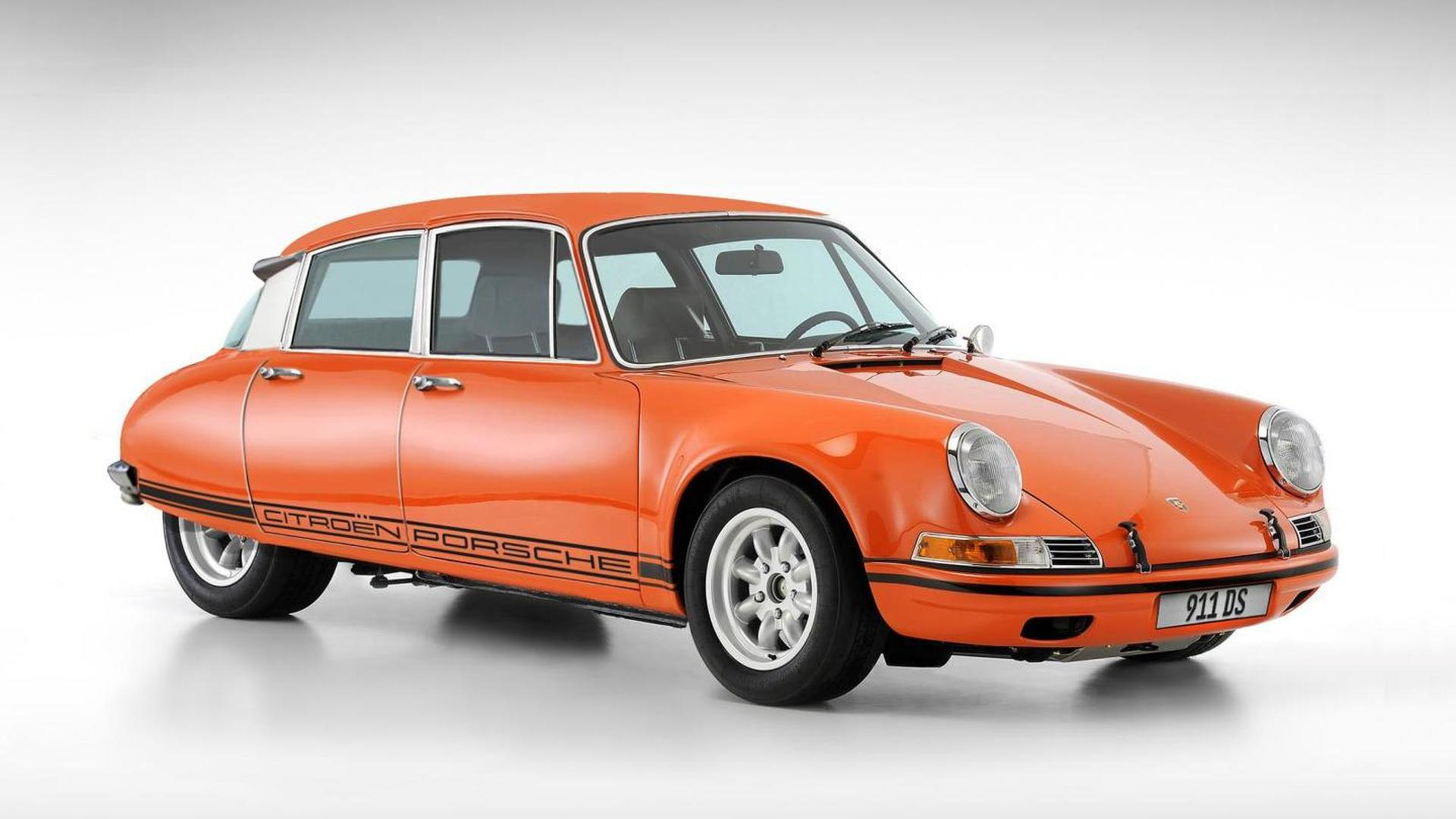 This Porsche Citroen 911 DS looks impressively real, but it's not