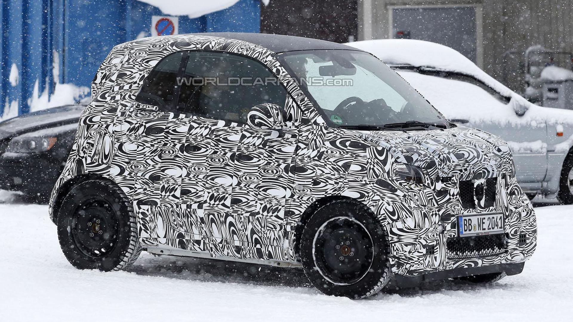 Next-gen Smart ForTwo to use 70 percent of Renault Twingo's parts