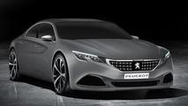 Peugeot Exalt production version render
