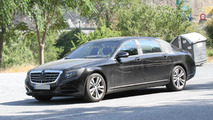 Mercedes-Benz confirms Maybach name and next month debut for extra-long S-Class