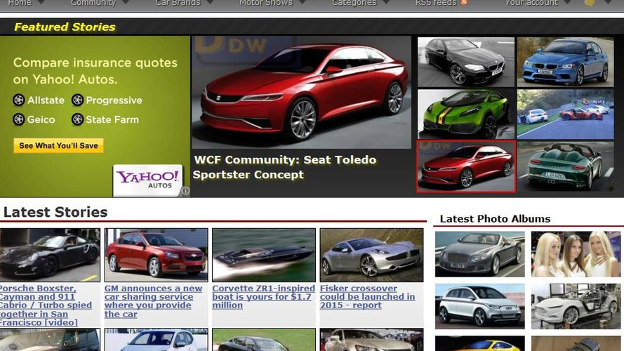 WCF Site Redesign 2011 - final stage 3 launched