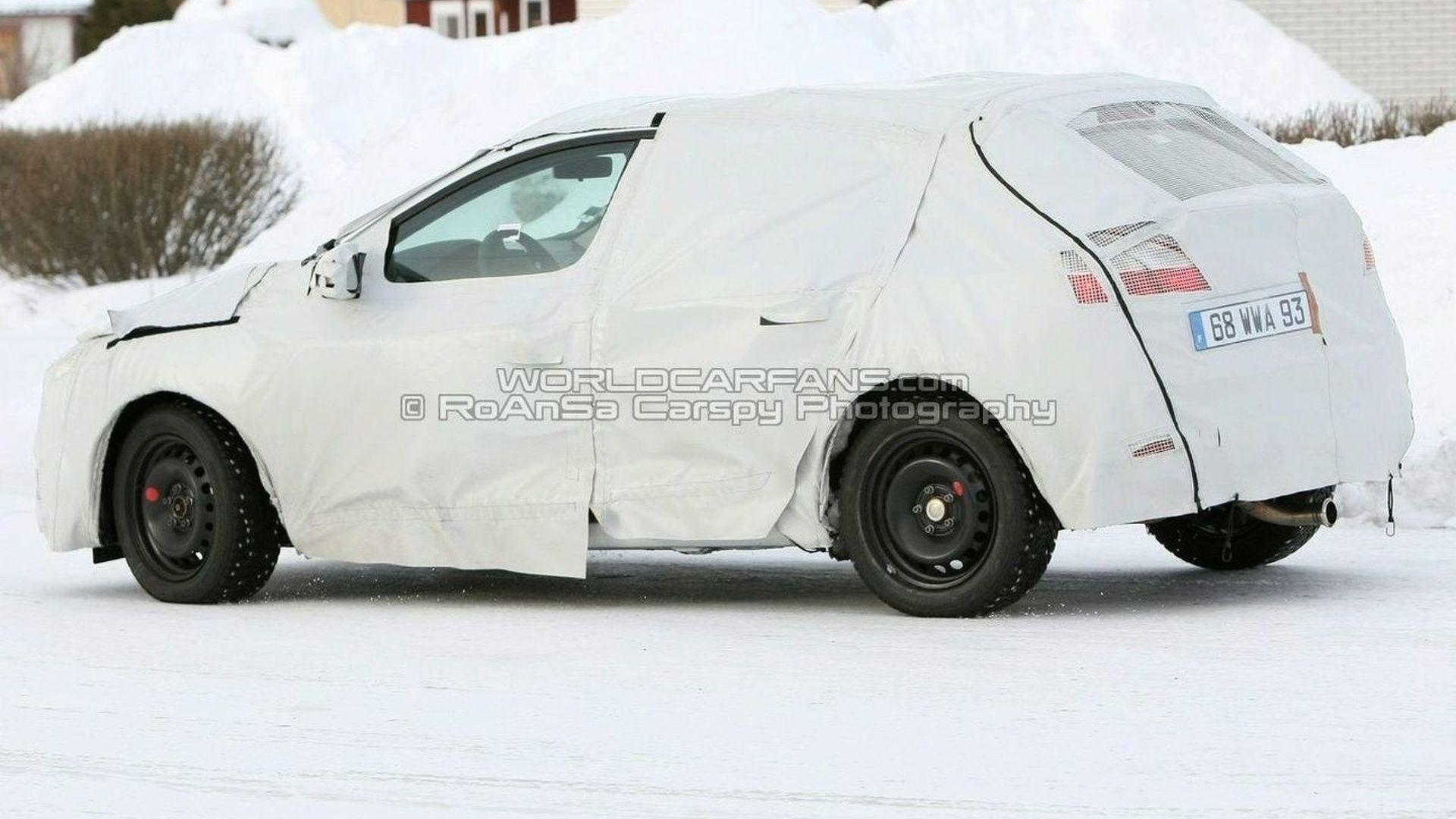 SPIED: All-New Renault Megane