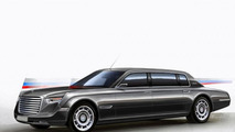 Russian presidential limo concept by Vladimir Hemp 25.2.2013