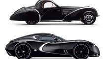 Bugatti Type 57 Atalante Concept and the Gangloff Concept