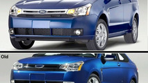 2008 Ford Focus Facelift - Before and After