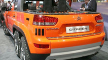 Citroen's 6 Wheel Cruise Crosser Concept Unveiled