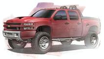 Dale Earnhardt Jr. Big Red Chevrolet Silverado Concept