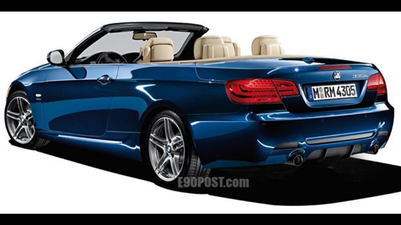 BMW M3 2011 - Divulgadas imagens do Série 3 com o kit M Sport e do BMW 335is