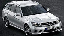 Mercedes C 63 AMG Wagon Photos Leaked