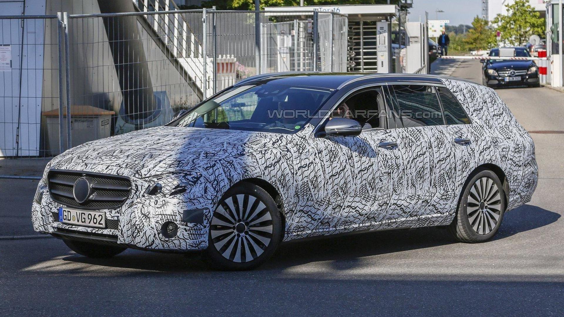 Mercedes E-Class All-Terrain set to battle the Audi A6 Allroad