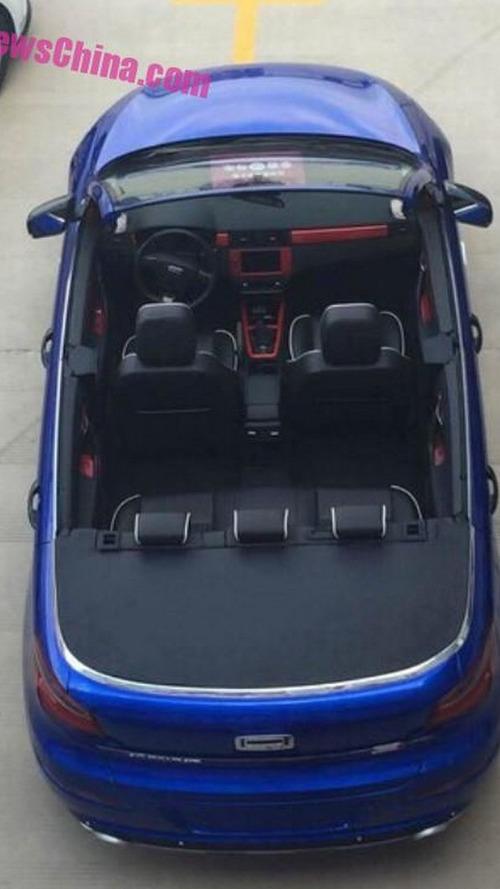 Qoros 6 four-door cabrio debuts in China as one-off